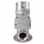 3in  Swing Check Valve Manifold w/ 4in  Adapter