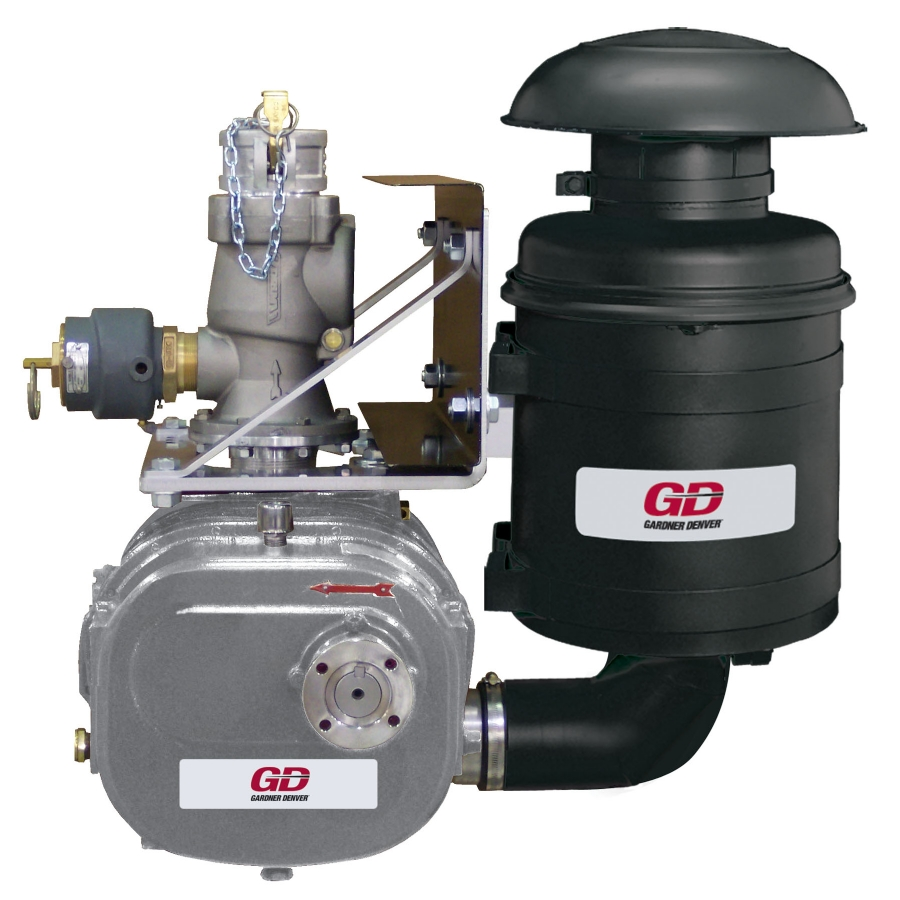 Blower Supercharger For Sale: T5CDL12L CycloBlower Truck Blower At Blocker & Wallace