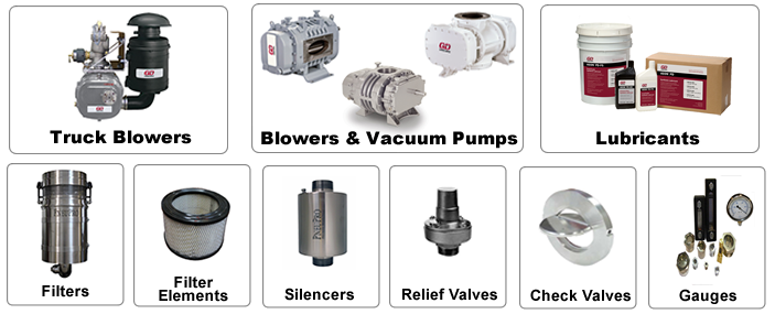 PD Blowers and vacuum pumps