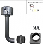D807 Installation Kit w/ Elbow & PreCleaner