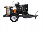 Trailer Mounted Diesel Powered Blower Package