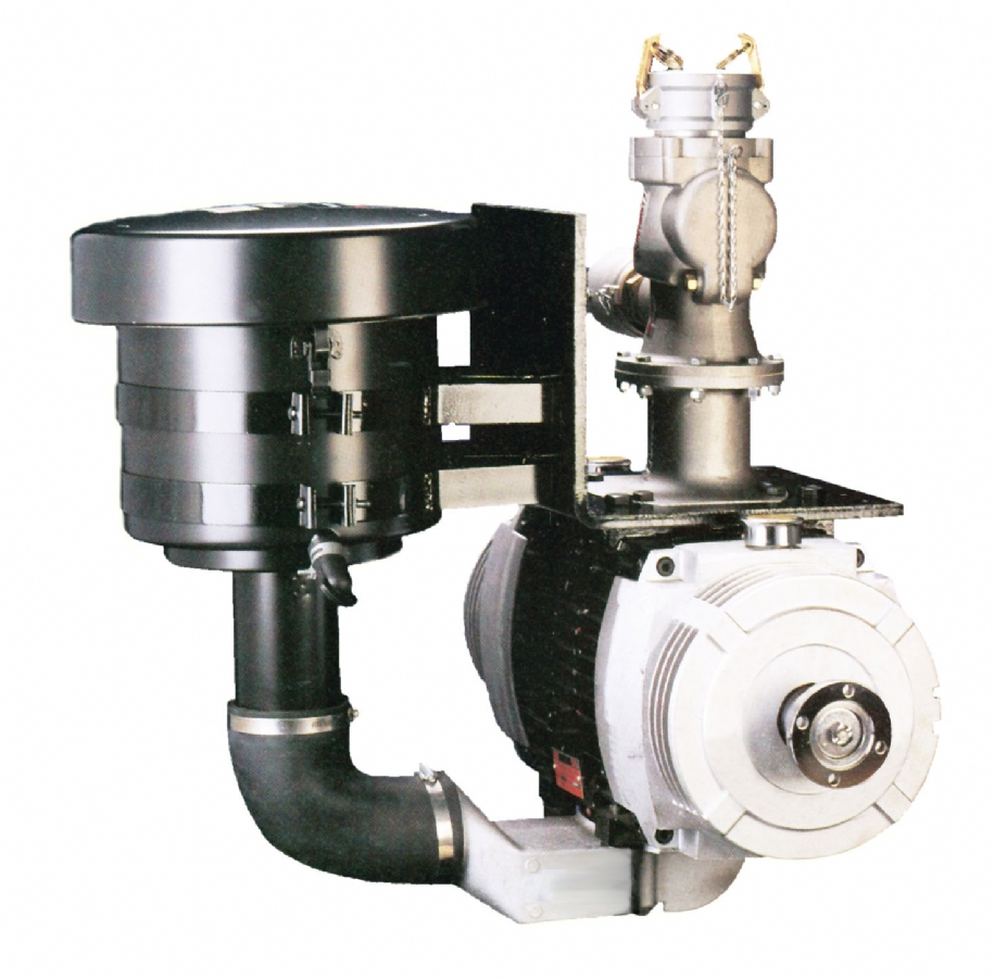 Blower Pumps For Trucks : Hpd vane truck blower blocker wallace