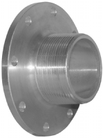 3in  TTMA Flange with 3in  Male NPT Thread